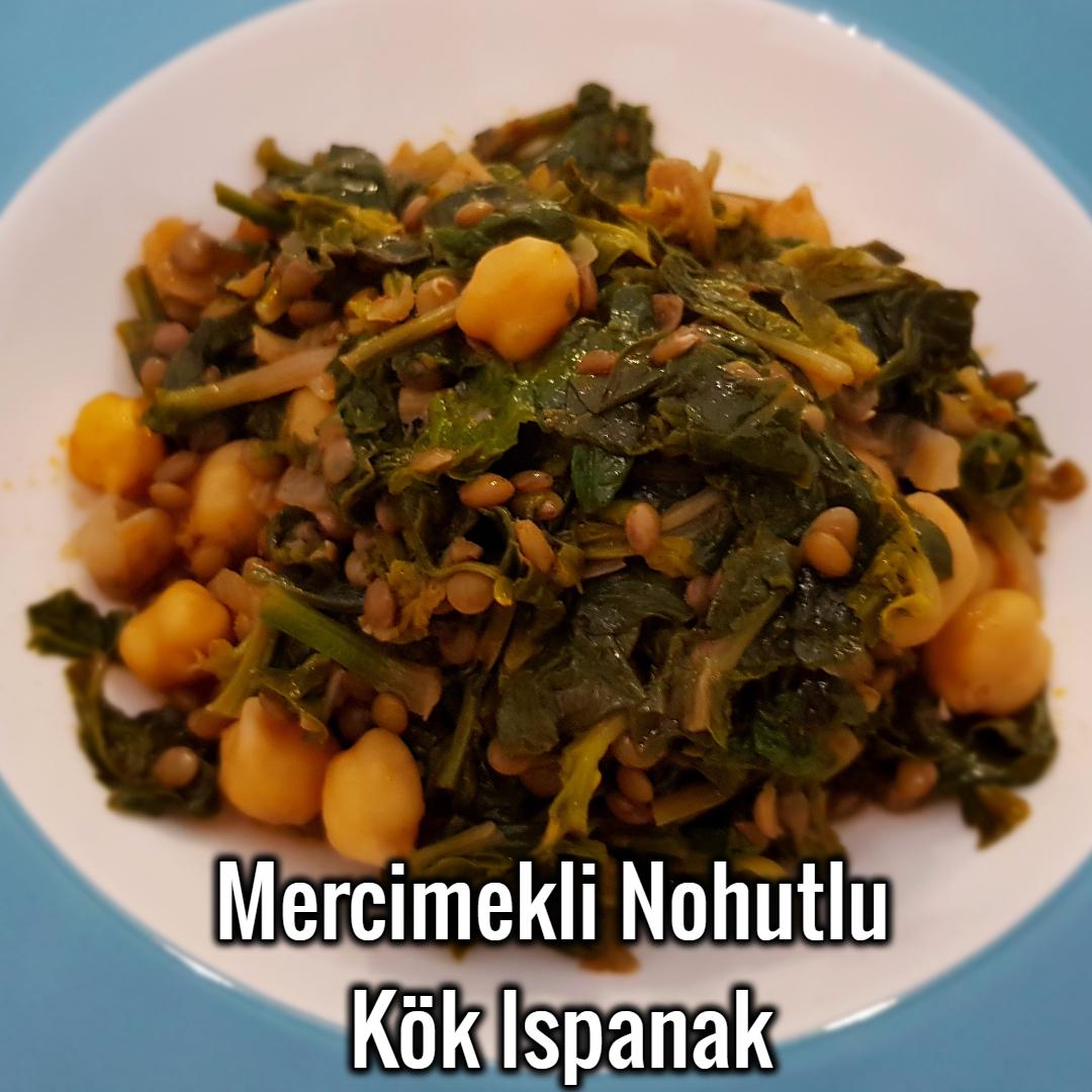 Ispanak Kökü Yemeği Yapılışı
